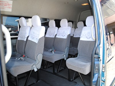 ジャンボタクシー・座席/車内