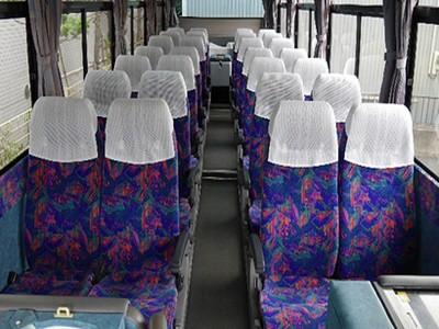 中型バス・座席/車内