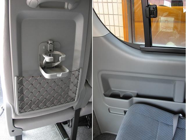 コミューターバス(ミニバス)・座席/車内